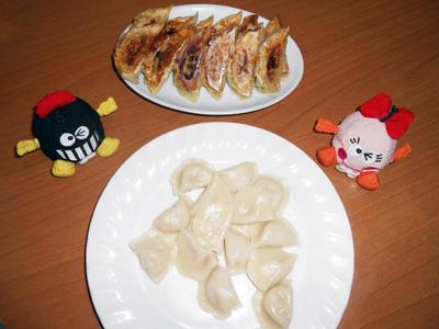 焼き餃子・水餃子