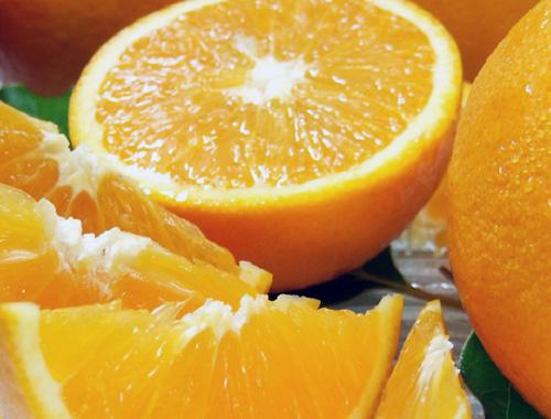 ジューシーなオレンジです!
