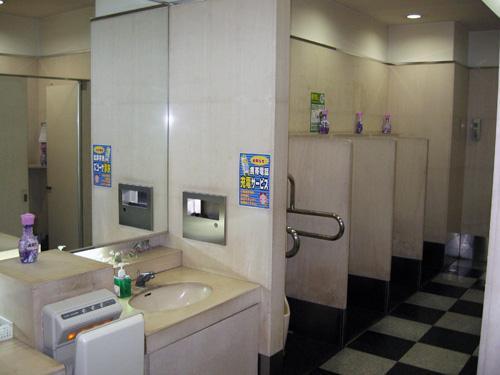 男性用トイレ☆