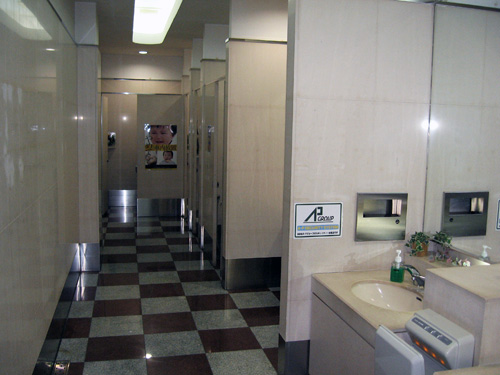 女性用トイレ☆