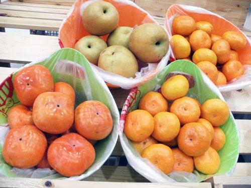 秋のイチオシ!果物♪