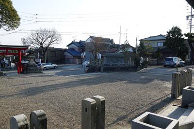八幡社&坂
