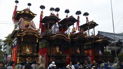 業葉神社にて集合