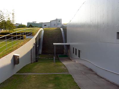 記念館の外観