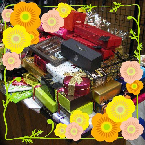 チョコレート入荷致しました!(写真と多少異なる場合がございます。)