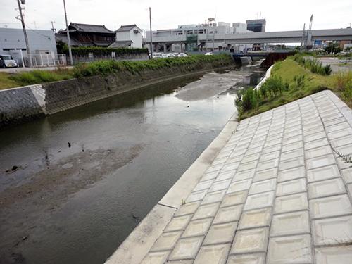 住処である神戸川