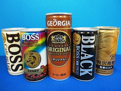 缶コーヒー各種♪