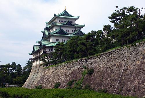 壮大な名古屋城