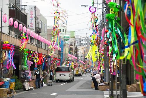 江戸時代の情緒や人情を残す町