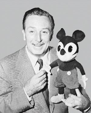 ディズニーとミッキー