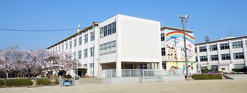 小学校の風景です。