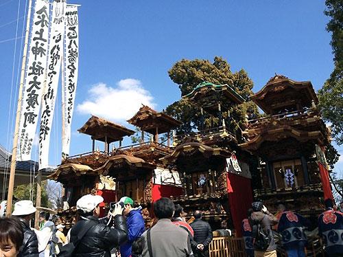 『乙川祭り』からスタートです。