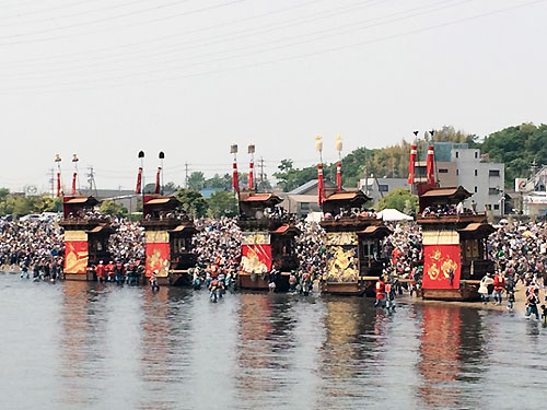 春祭りラスト、『亀崎潮干祭り』