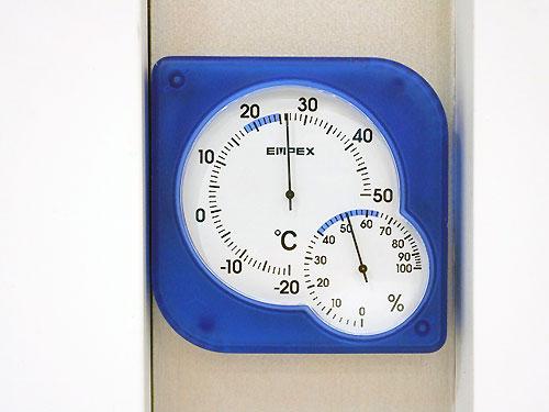 一昨年とは違う温度計なのです