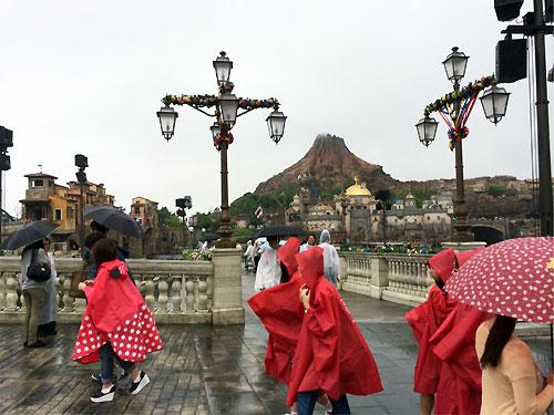 雨でもなんのその!