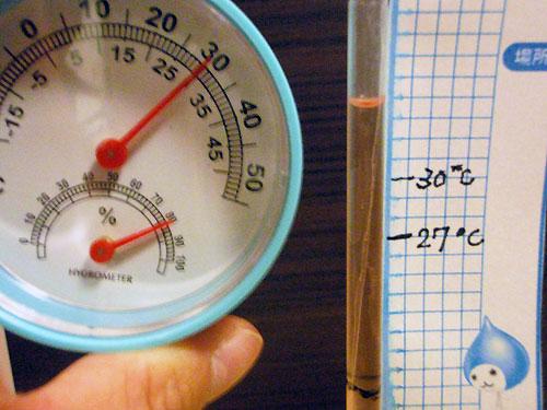 30℃のはずが…
