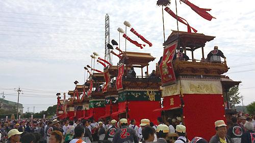 常滑・武豊山車祭り!!