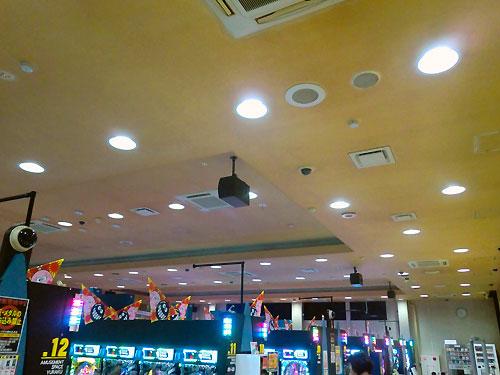 店内LED電球1