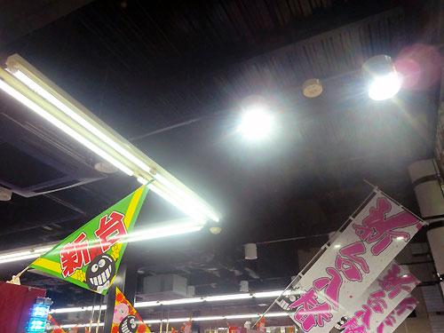 店内LED電球4