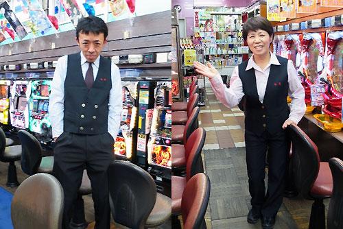 シマシマ長袖+黒ベスト
