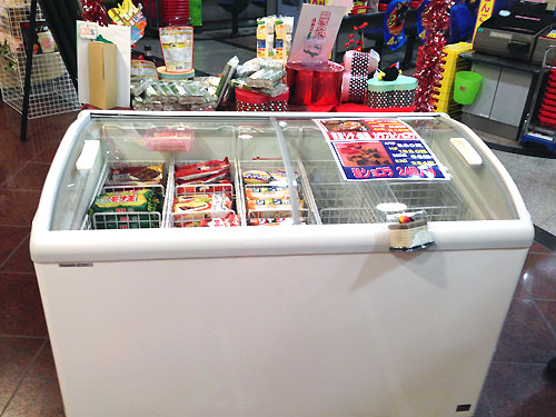 ついに導入!冷凍ショーケース