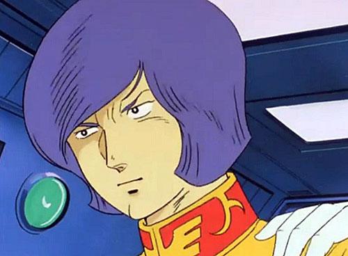 このお方が、ガルマ・ザビ大佐です