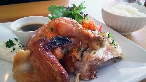 絶品・鶏の丸焼き