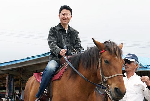 北日本乗馬サービス バンダナさん