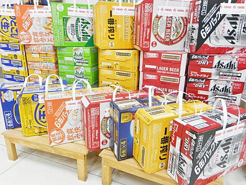 ビールの壁