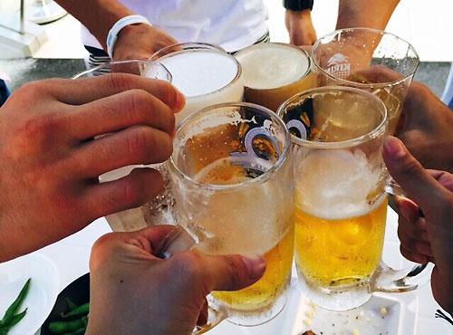 ん~!乾杯!!