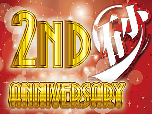 ♡2nd anniversary♡