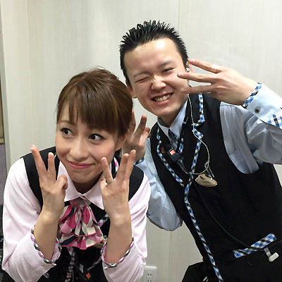 上田君&おぐさん