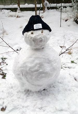 雪だるまちゃん♪