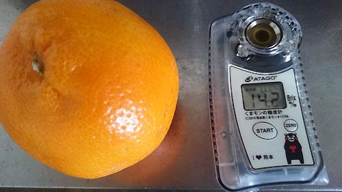 くまモンデザインの糖度計