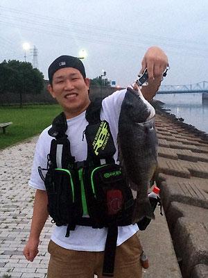 釣りが大好き!