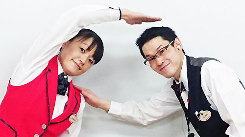 新タッグ【アゲイケコンビ】誕生!!