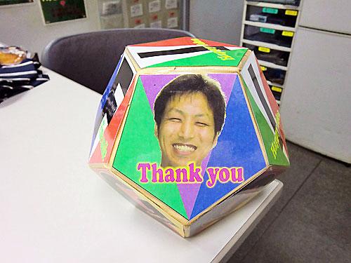 田村班長のサイコロ