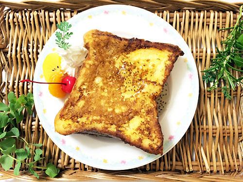 ♥アレンジ①フレンチトースト♥