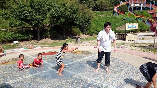 伊藤と子供達