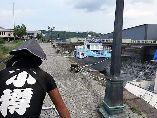 運河の裏路地