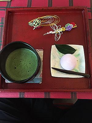 抹茶(和菓子付)