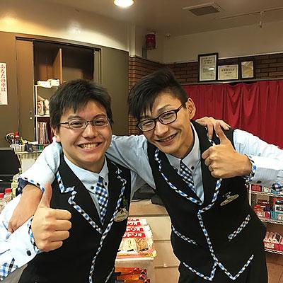 神谷コンダクター&持田コンダクター