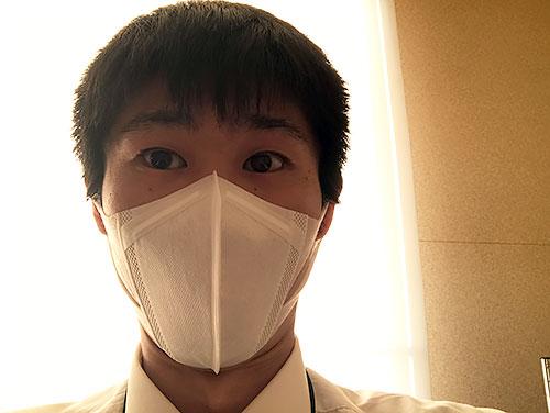 マスクをお忘れなく!