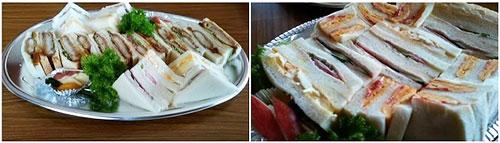 クリオネさんのサンドイッチ