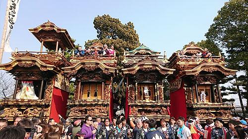 八幡神社にて
