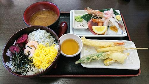 海鮮・天ぷらランチ