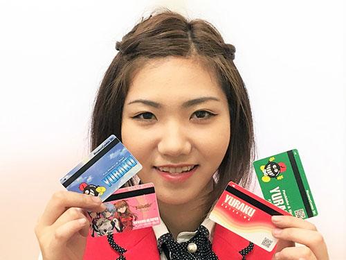 貯玉カードと中嶋さん☆