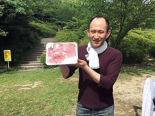 竹本次長とお肉
