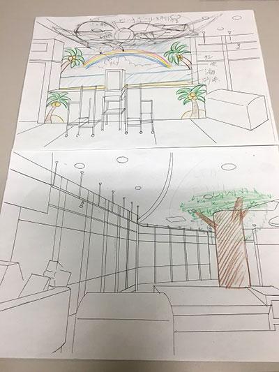 つぼさん考案のデザイン案