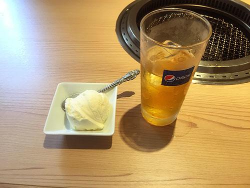 冷たいアイスクリーム
